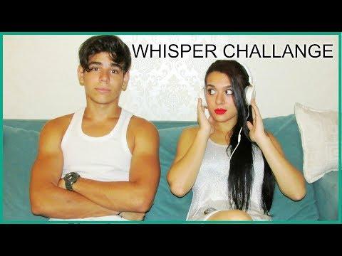WHISPER challange / reto BY ALBA