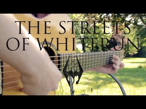 Skyrim OST - The Streets Of Whiterun - Fingerstyle Guitar Cover by James Bartholomew