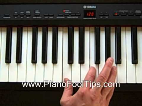 Free Piano Lessons Finding The F Chord Inversions Youtube