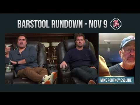 Barstool Rundown - November 9, 2016