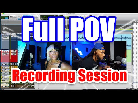 How to Record | A Full Studio Session using ProTools
