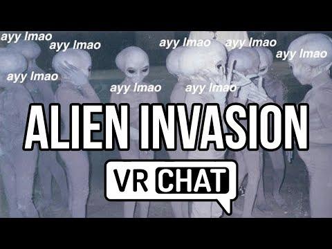 [VRChat] Alien Invasion