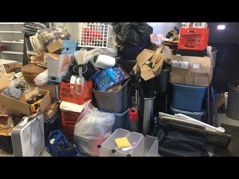 $5 Storage Auction - Live Unboxing Of My 1/31/18 Storage Unit (part One)