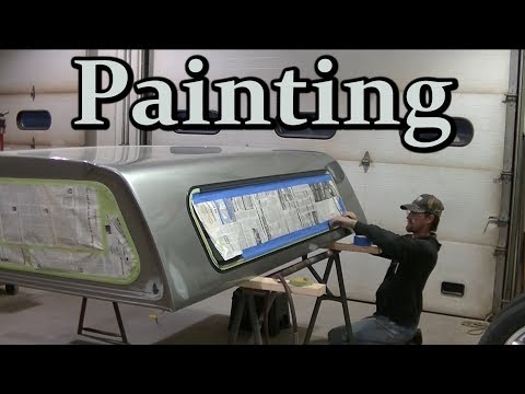 "02 Silverado LB7 Duramax Dually ""Painting the Topper"" Darth Dually"
