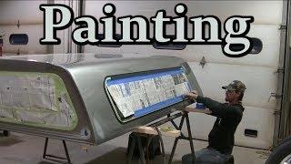 "02 Silverado LB7 Duramax Dually ""Painting the Topper"" Darth Dually"