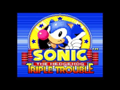 Sonic Triple Trouble   Sega Game Gear gameplay