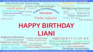 Liani   Languages Idiomas - Happy Birthday