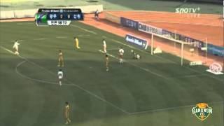 2012 K리그 39R 강원FC vs 광주FC 하이라이트