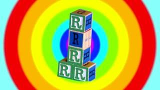 Learn English Letters!  R with Alphabet Song!