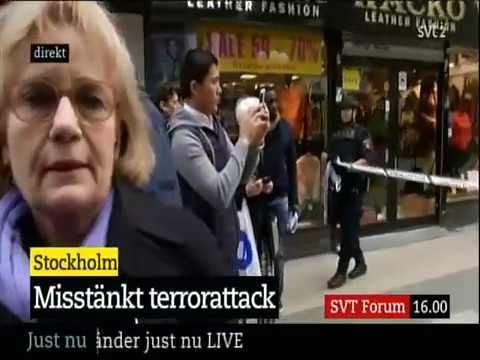 horor i stockholm videio