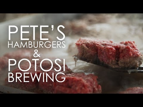 Wisconsin Foodie - Pete's Hamburgers & Potosi Brewing - FULL EPISODE