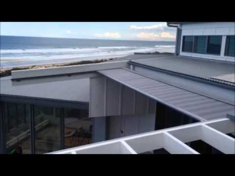 Retractable Roof Awning Youtube