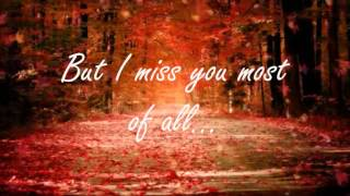 Autumn Leaves Nat King Cole (lyrics)