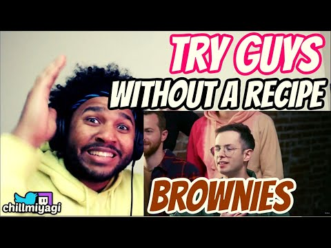 The Try Guys Bake Brownies Without A Recipe | Reaction