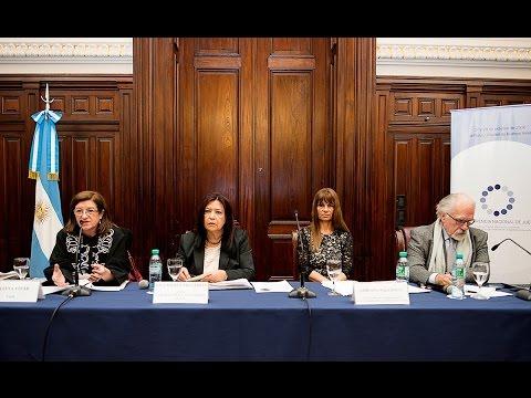 VII Conferencia Nacional de Jueces: panel Juicios por crímenes de lesa humanidad
