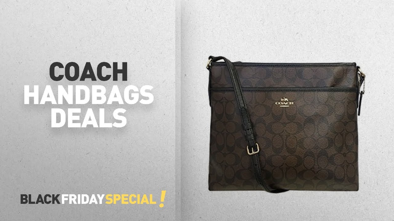 5039510e3d3a89 Cyber Monday / Black Friday Coach Handbags: Coach Signature File ...