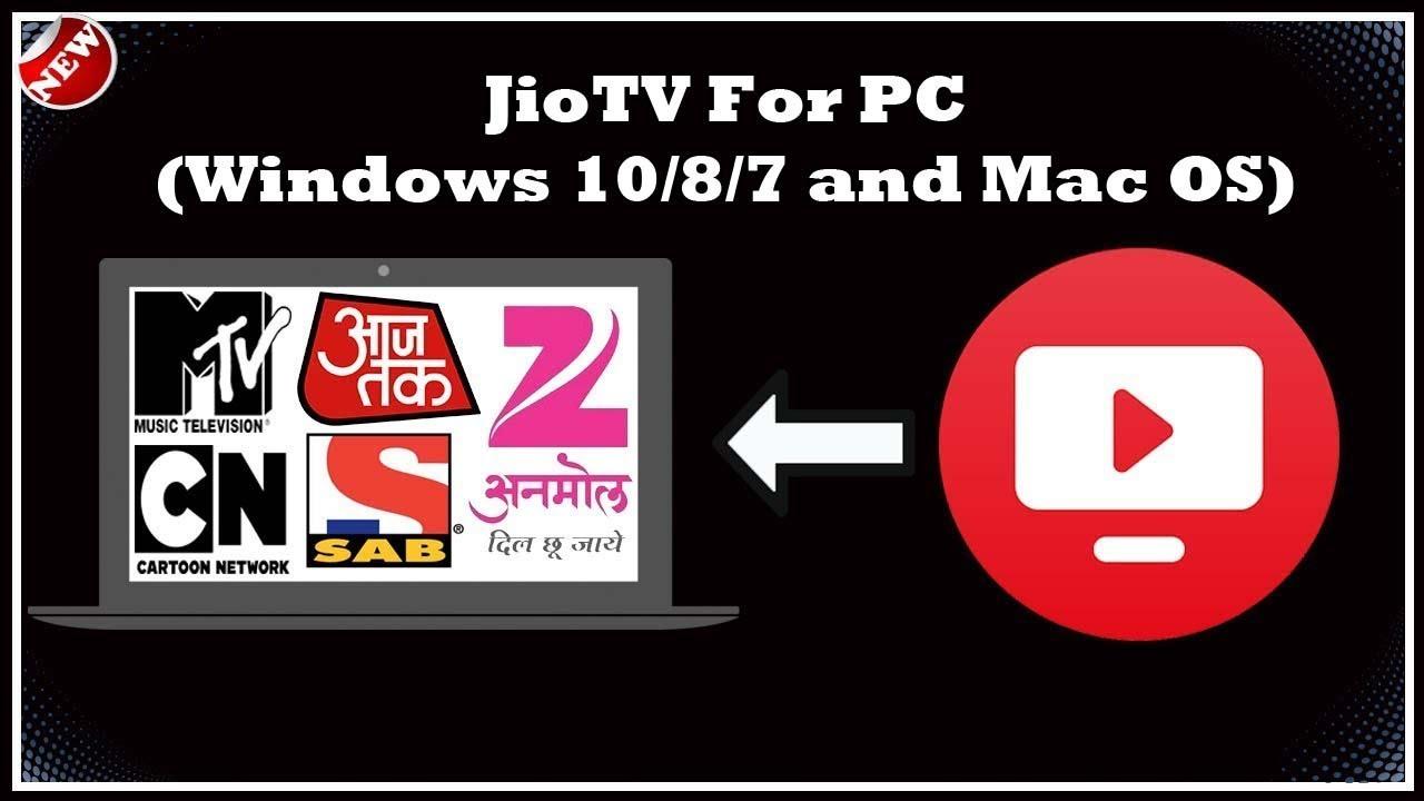 jio tv app download free for laptop
