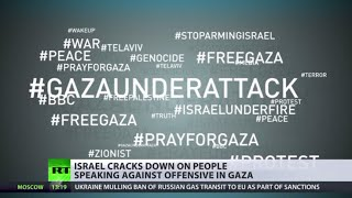 Hashtag Headache: Israel tries to silence those protesting Gaza offensive online(At least five Palestinians have reportedly been killed in Gaza on Saturday, a day after the fragile ceasefire with Hamas crumbled. But there's another battle Tel ..., 2014-08-09T11:48:37.000Z)