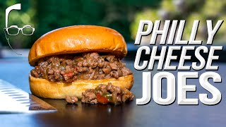 THE BEST PHILLY CHEESESTEAK SLOPPY JOES | SAM THE COOKING GUY 4K