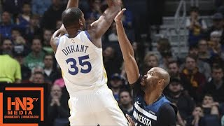 Golden State Warriors vs Minnesota Timberwolves Full Game Highlights / March 11 / 2017-18 NBA Season thumbnail