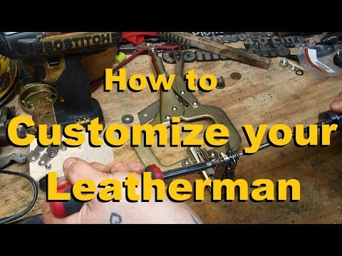 Swapping Tools On A Leatherman - Making A Custom Multi-tool