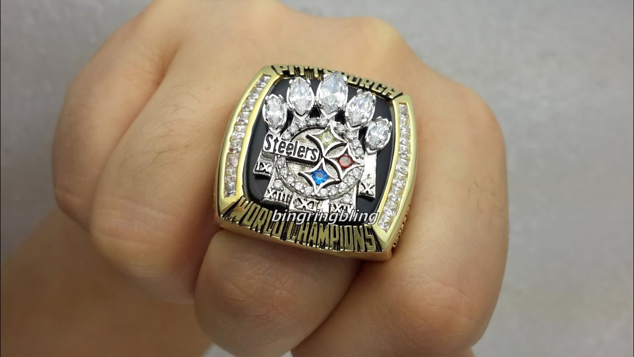 To Steelers Fans 2005 Pittsburgh Steelers Super Bowl Replica Rings