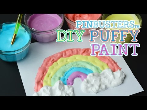 DIY Puffy Paint // THIS LOOKS COOL, DOES IT WORK?