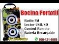 Bocinas Portatiles HL-9A