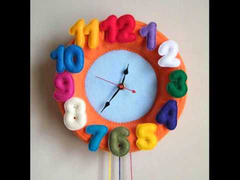wall clocks for kids kids room clocks kids room wall clock rh youtube com Living Room Clocks Dining Room Clocks