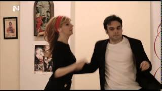 Athens Swing Cats featured at the TV Art Show ''Ta Stekia''