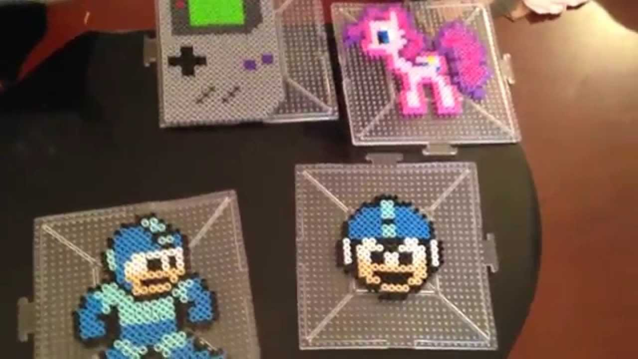 More 8bit Video Game Perler Beads Creations