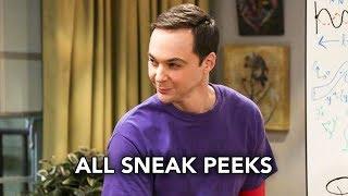 "The Big Bang Theory 11x13 All Sneak Peeks ""The Solo Oscillation"" (HD)"