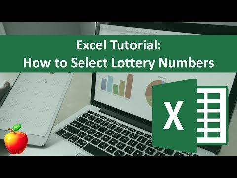 Excel Tutorial: How To Select Lottery Numbers