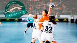 Россия -Мексика. Олимпийский квалификационный турнир по гандболу 2016