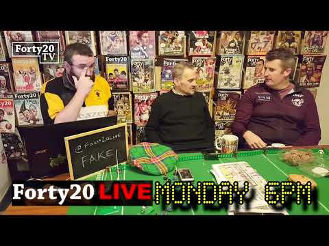 Forty20 TV: Talking Great Britain Rugby League Lions And Their 2019 Tour (Part 1)