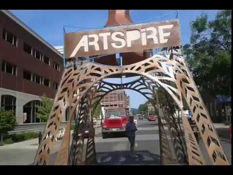 ArtSpire art craft music 2016 La Crosse Wisconsin