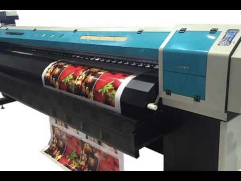 3 2m with One Epson Dx5 Head Canvas Eco Solvent Printer in Uae