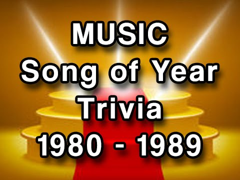 Music Trivia - Grammy Winners 1980-1989