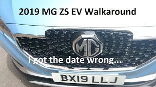 2019 MG ZS EV Exclusive Walkaround With Planet Auto (Wrong Date!) - Lloyd Vehicle Consulting