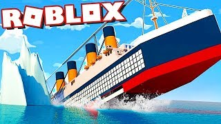I HAVE TO SURVIVE THE TITANIC! Roblox