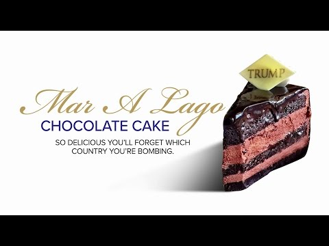 Mar-A-Lago Chocolate Cake Commercial