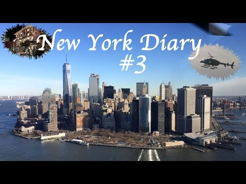 NEW YORK DIARY #3 -  Helikopterflug & Christmas Overkill