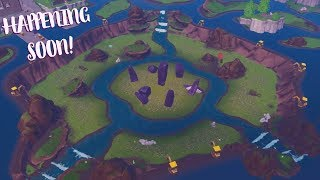 *NEW* DIG SITE EVENT HAPPENING SOON AT LOOT LAKE! (Fortnite Season 8 Live Event)