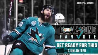 Sharks Goal Song Proposal - 2Unlimited - Get Ready for This