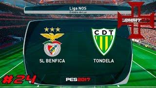 PES 2017 Liga Master #24 Liga NOS Benfica vs Tondela