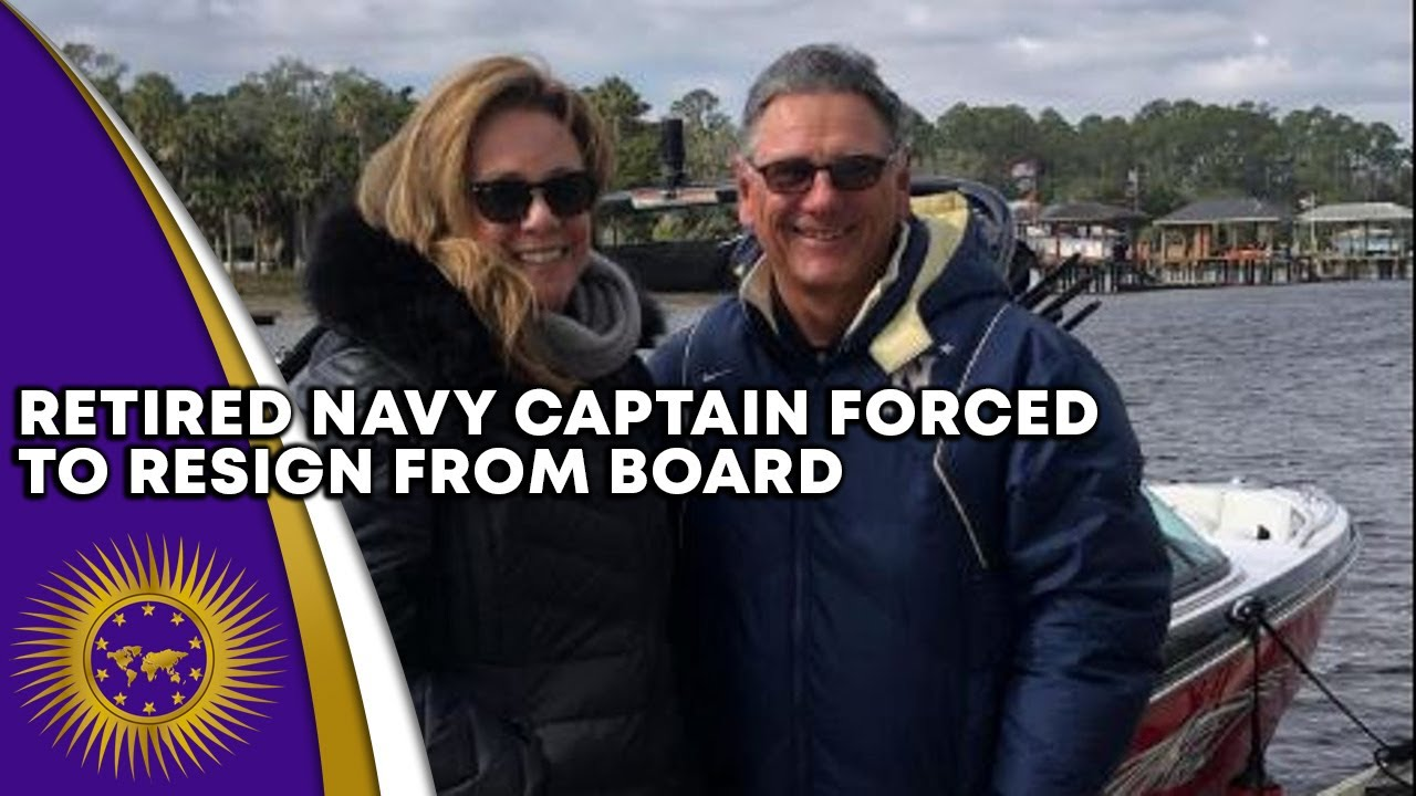 Retired Navy Captain Forced To Resign From Board After Being Heard Disparaging Black Lives Matter