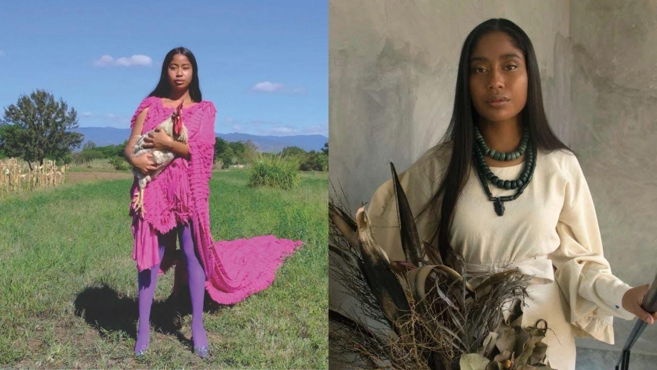 ¡INCREÍBLE! modelo Mexicana Representa al País: la primera modelo oaxaqueña en la portada de 'Vogue