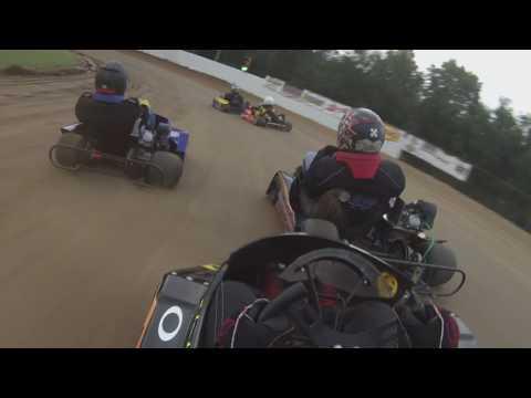 8/20/16 I70 I77 speedway. Predator 350 1st heat race.