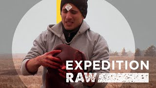 Would You Bite Into a Raw Bison Liver? | Expedition Raw