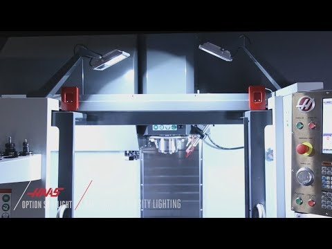 High-Intensity-Lighting for Mills - Haas Automation Option Spotlight